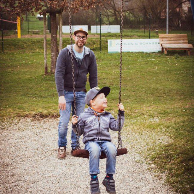 Vater & Kind See Noswendel